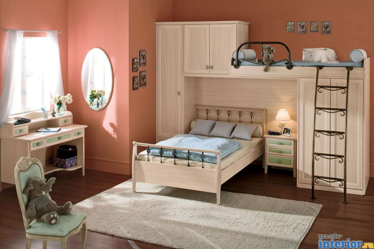 Спальни для ребенка и родителей фото