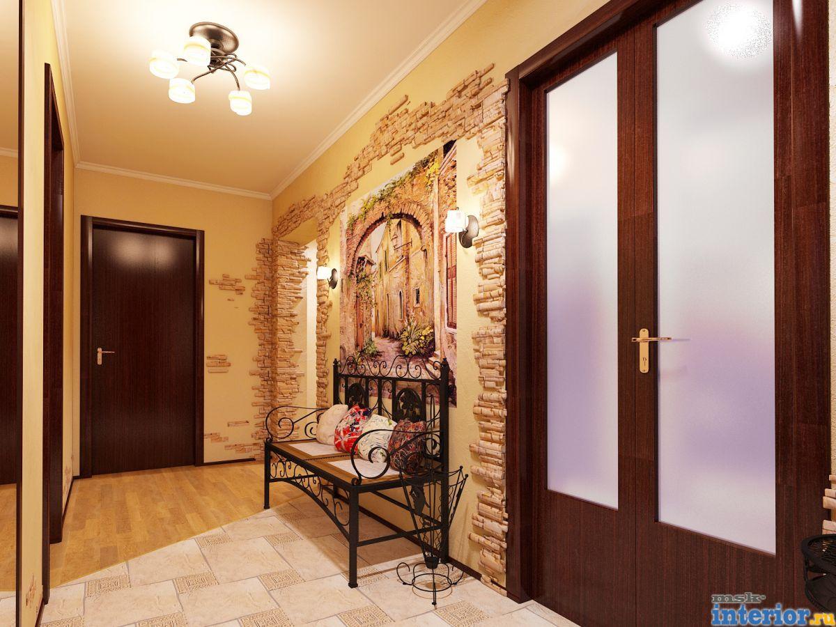 Дизайн прихожей в своем доме