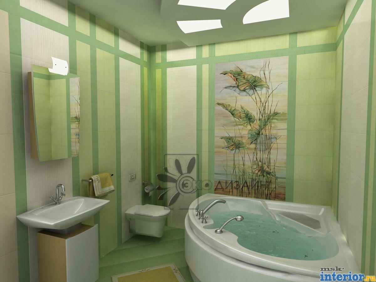 Ванная комната 135х150 дизайн