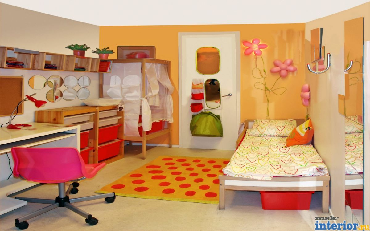 Фото дизайн детской комнаты своими руками