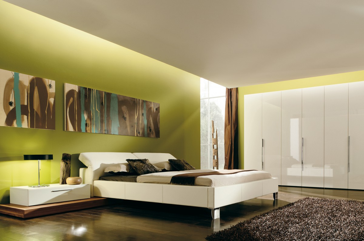 Charming Bedroom Wall Interior Design - plusarquitectura.info