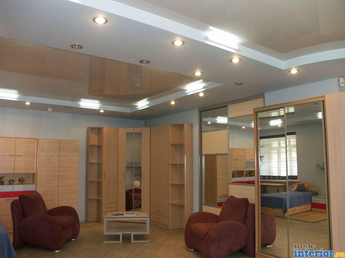 Квадратный потолок дизайн