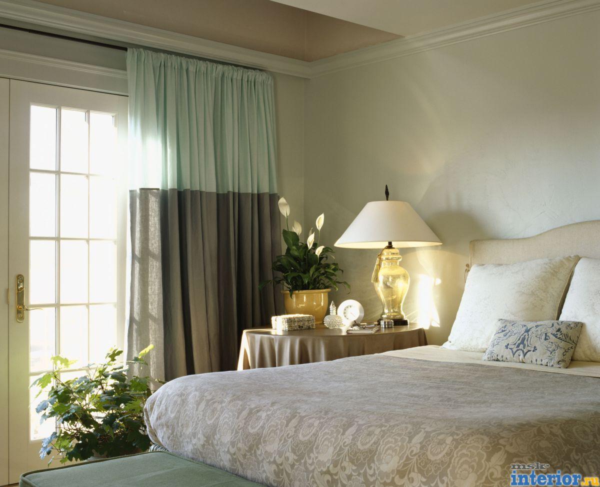 Спальни интерьер фото 493