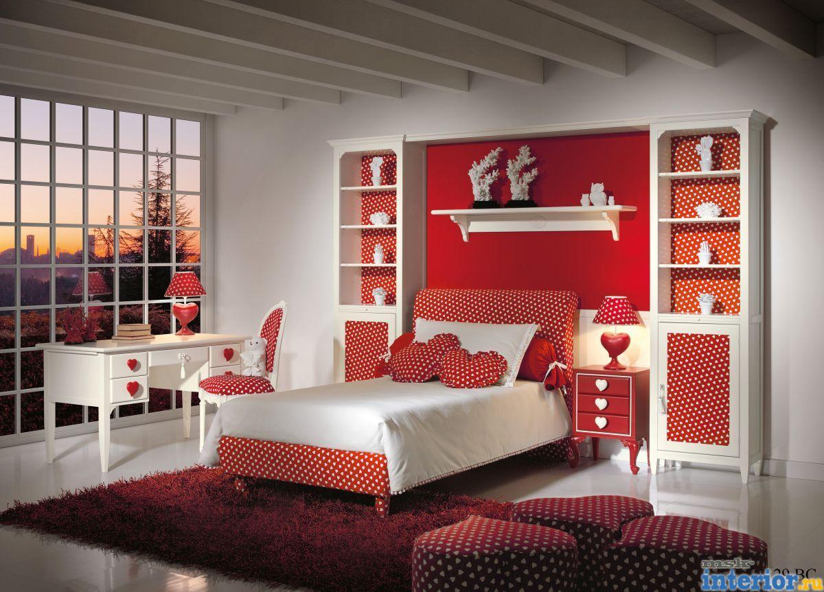 Спальни детские для девочки дизайн
