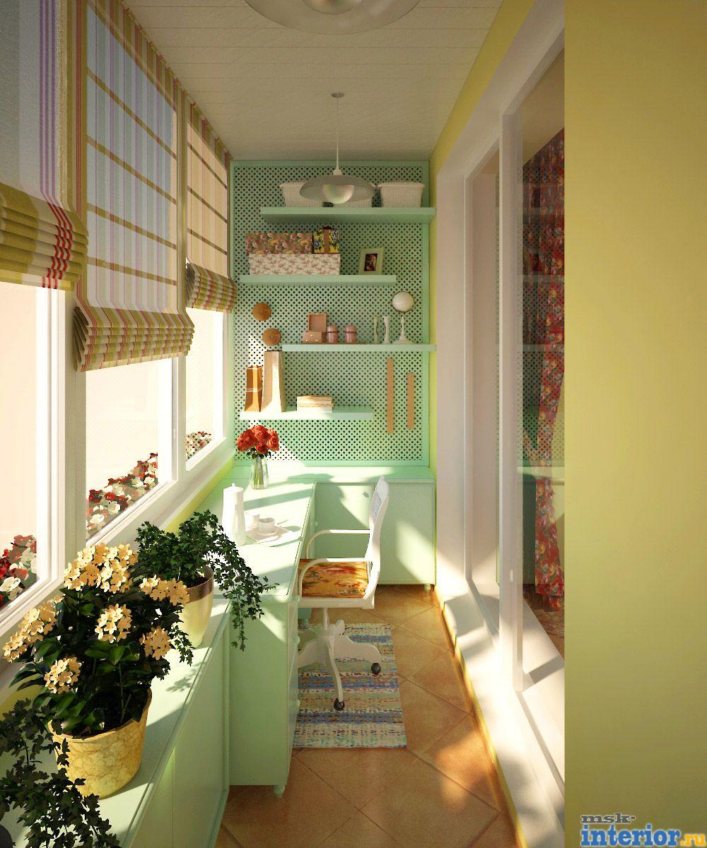 Дизайн простого балкона своими руками