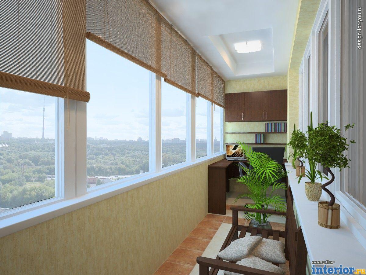 Декор балкона фото