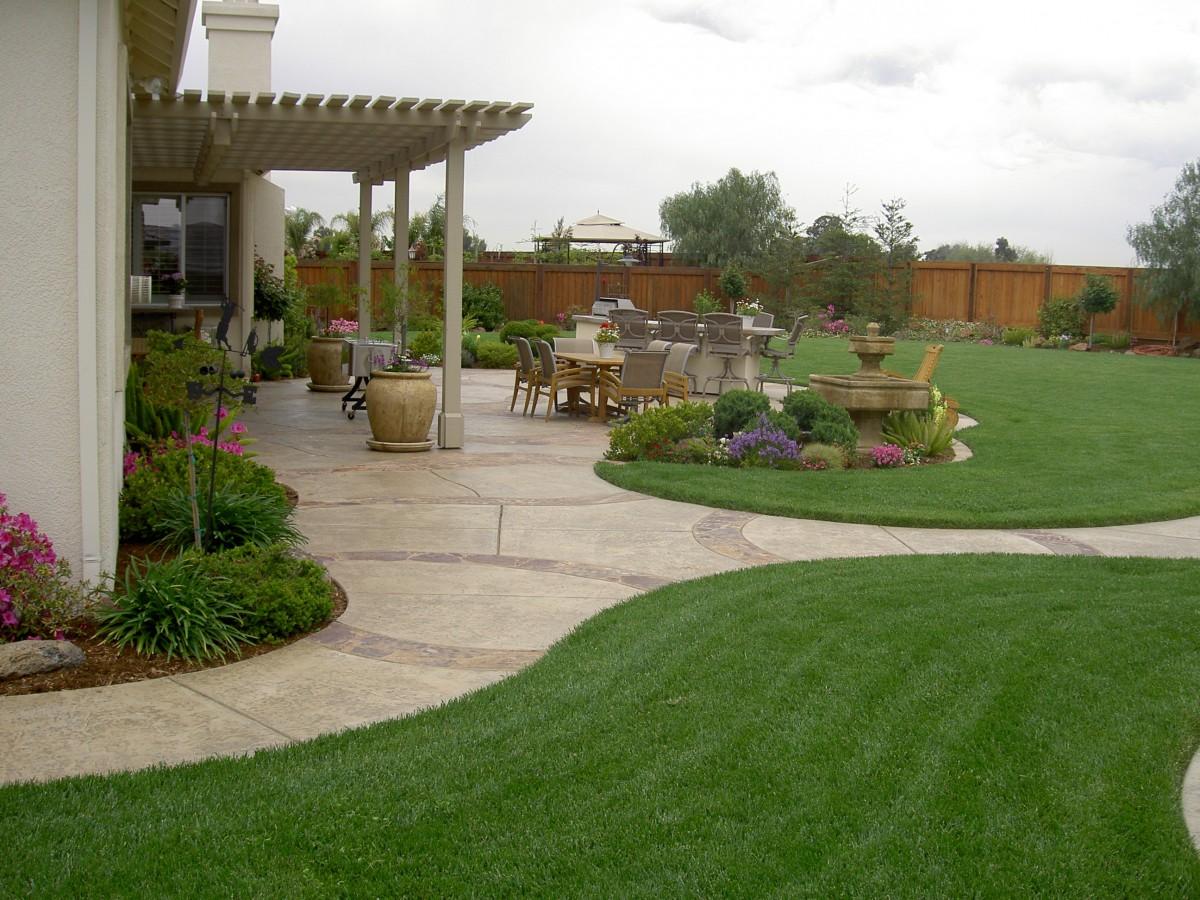 Дизайн ландшафта загородного дома своими руками