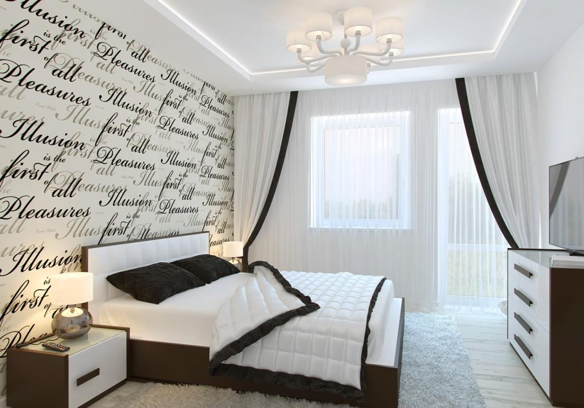 Дизайн спальни стиле минимализм