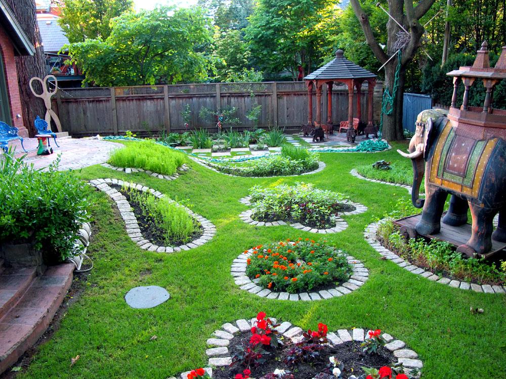 Фото благоустройство садового участка своими руками