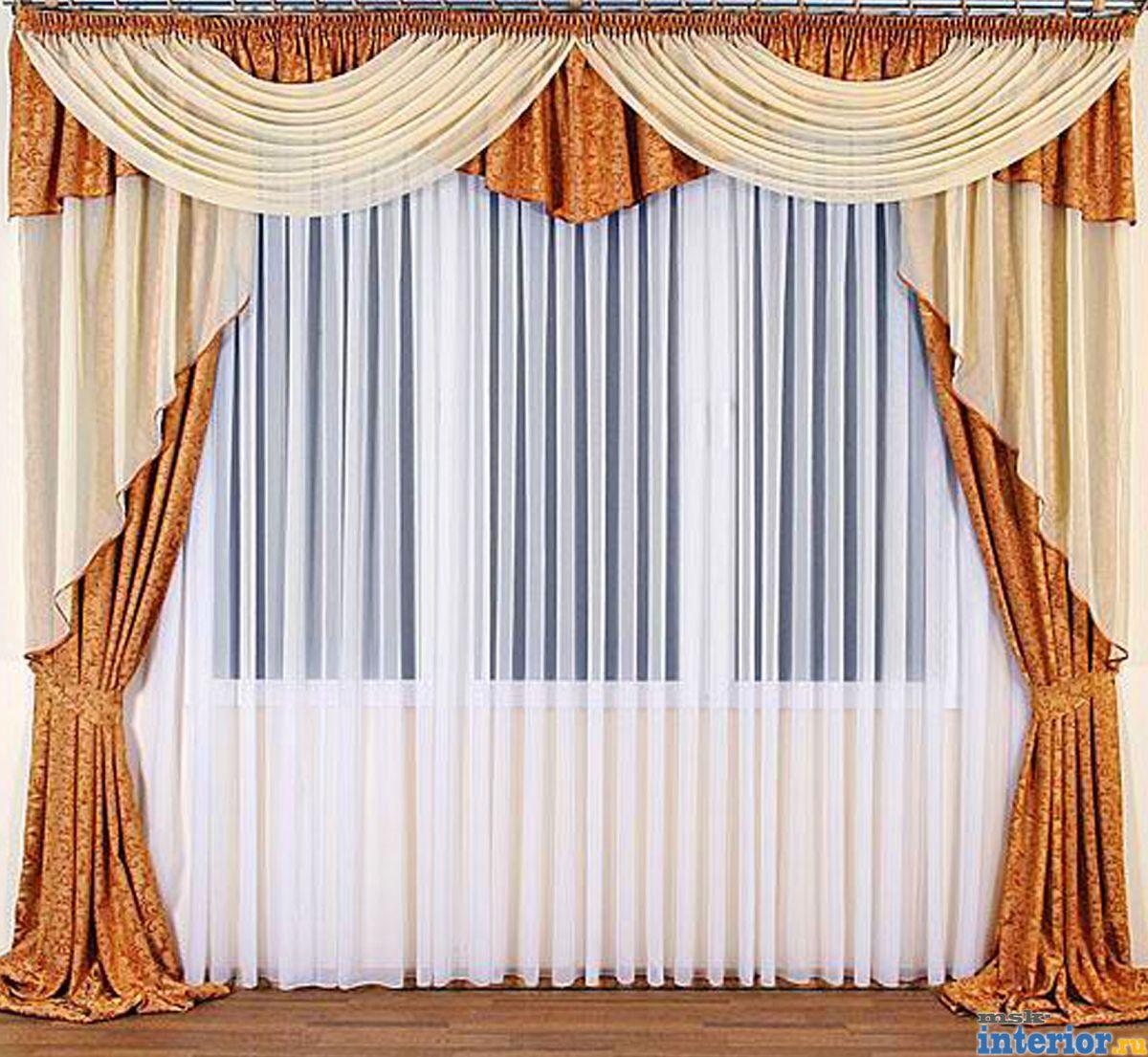 Сшить шторы для зала фото 6
