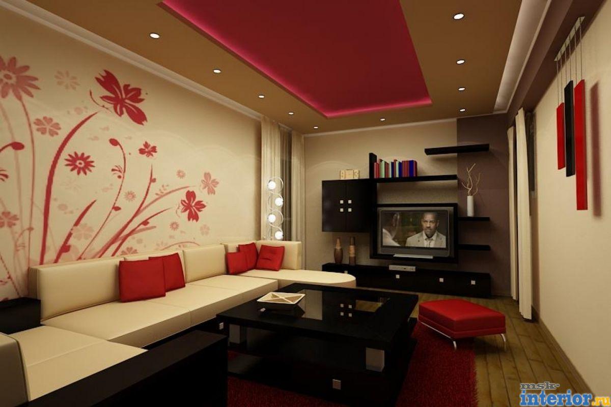Советы по составлению индивидуального  дизайна для гостиных комнат различной площади