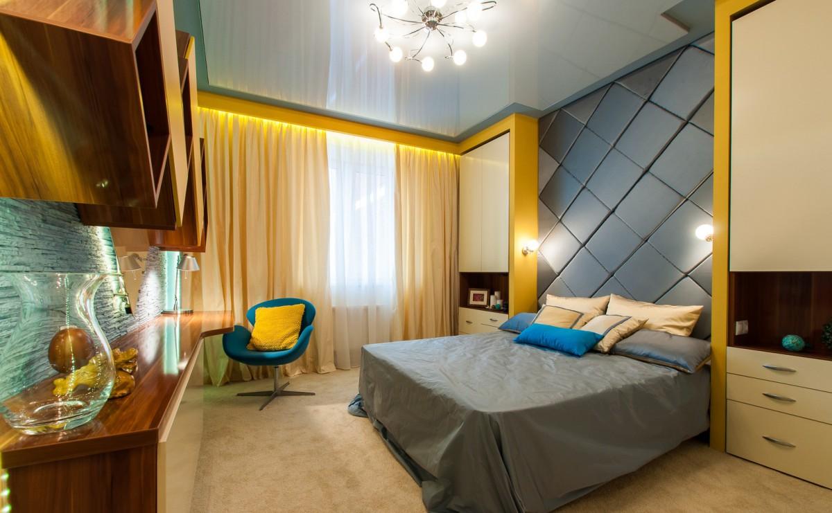 Дизайн проект комнаты 16 кв м