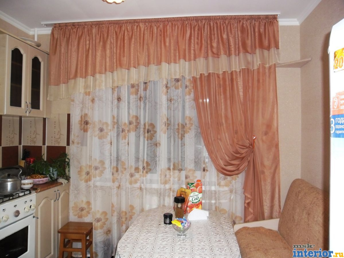 Шторы для кухни фото - Фотогалерея: msk-interior.ru/photos/1043