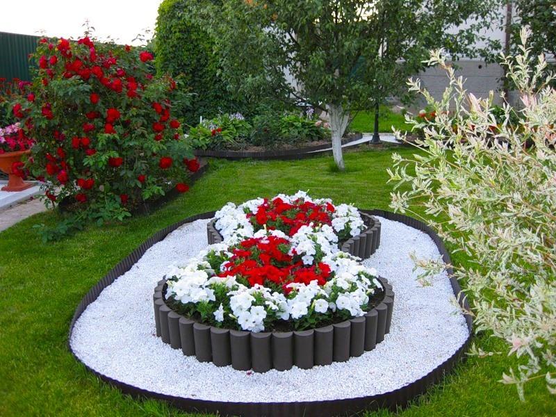 Цветы на даче дизайн своими руками фото