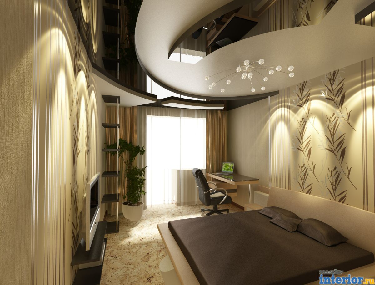 Идеи дизайна натяжных потолков