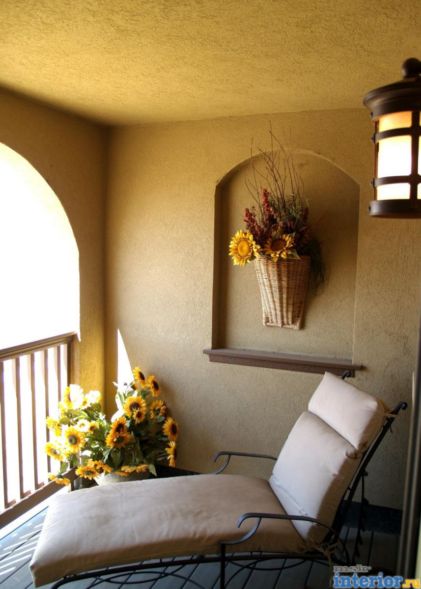 Интерьер балкона фото1750.