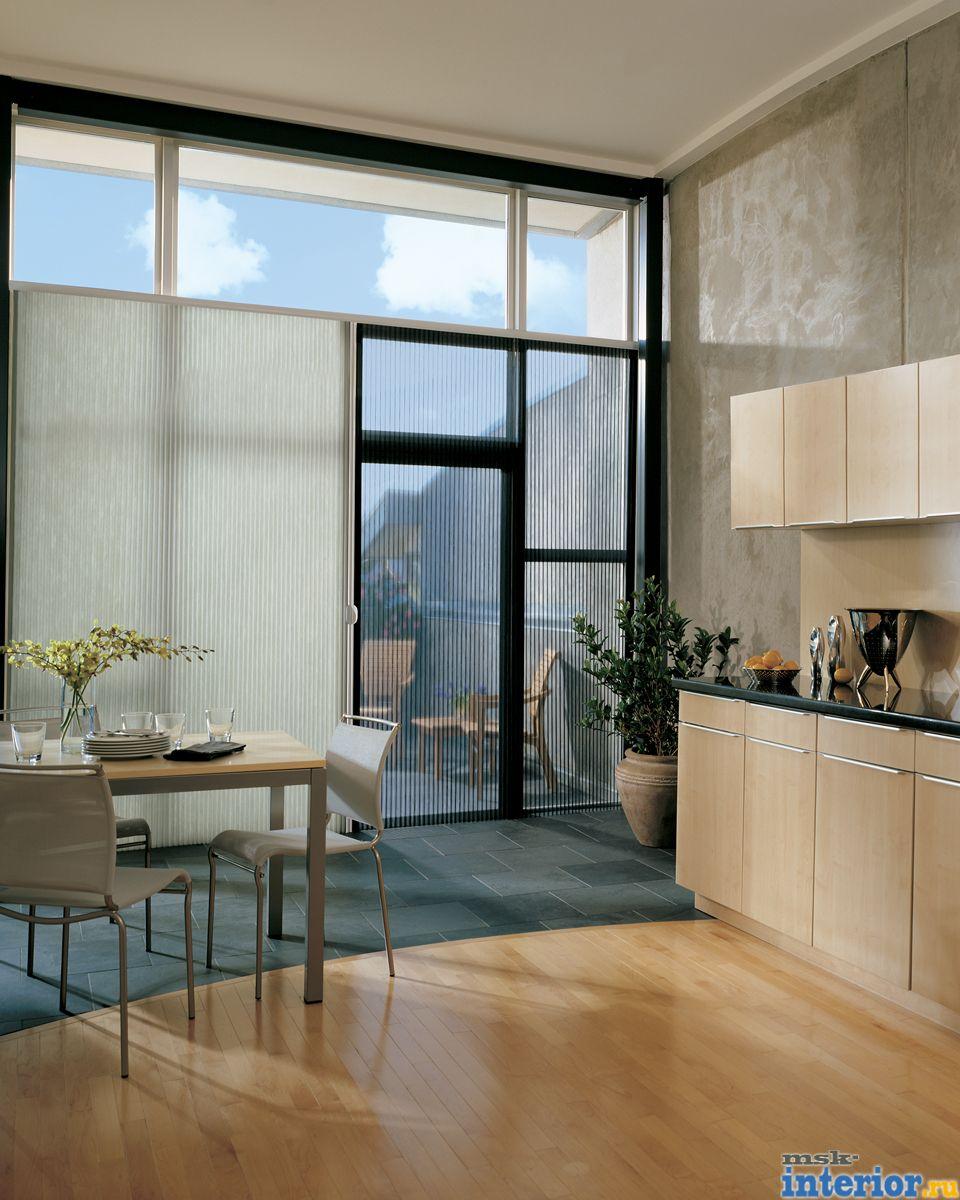 Шторы на кухню с балконной дверью фото и советы.