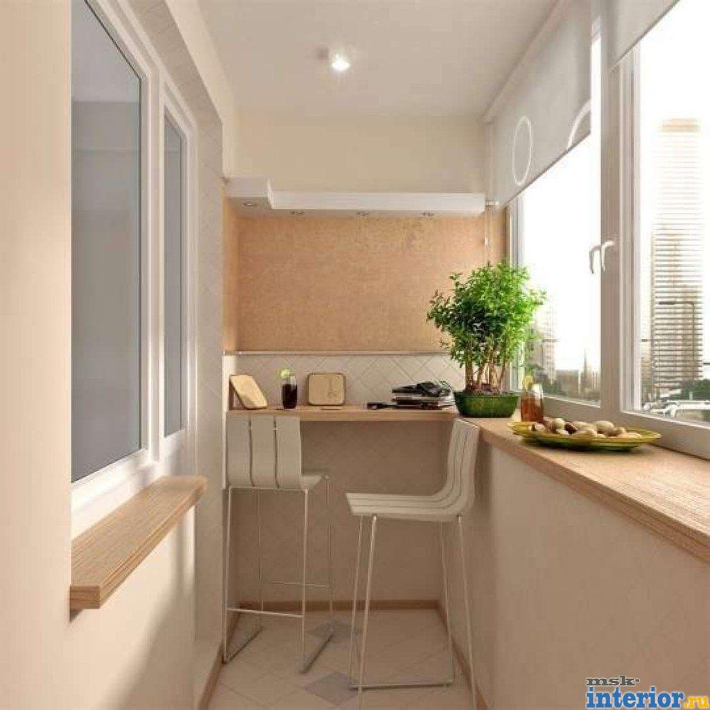 18 идей для оформления закрытых балконов и лоджий (фото) - у.