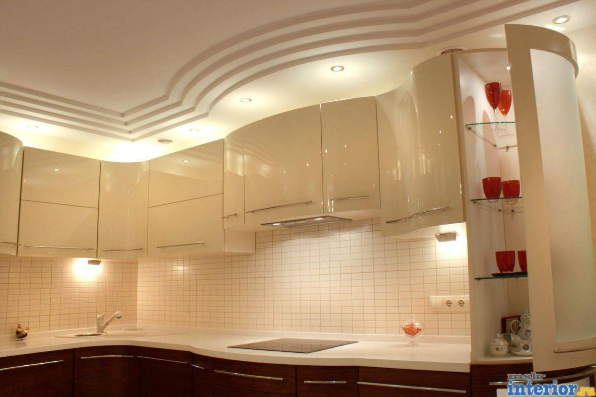 Дизайн потолки подвесные