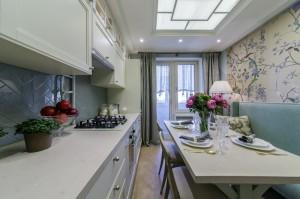 Квартирный вопрос. Кухня с окном в небо