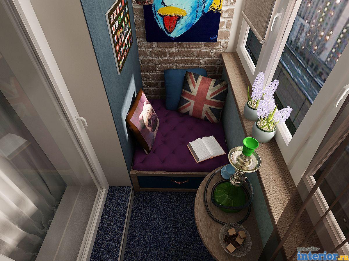 Интерьер балкона фото1780.