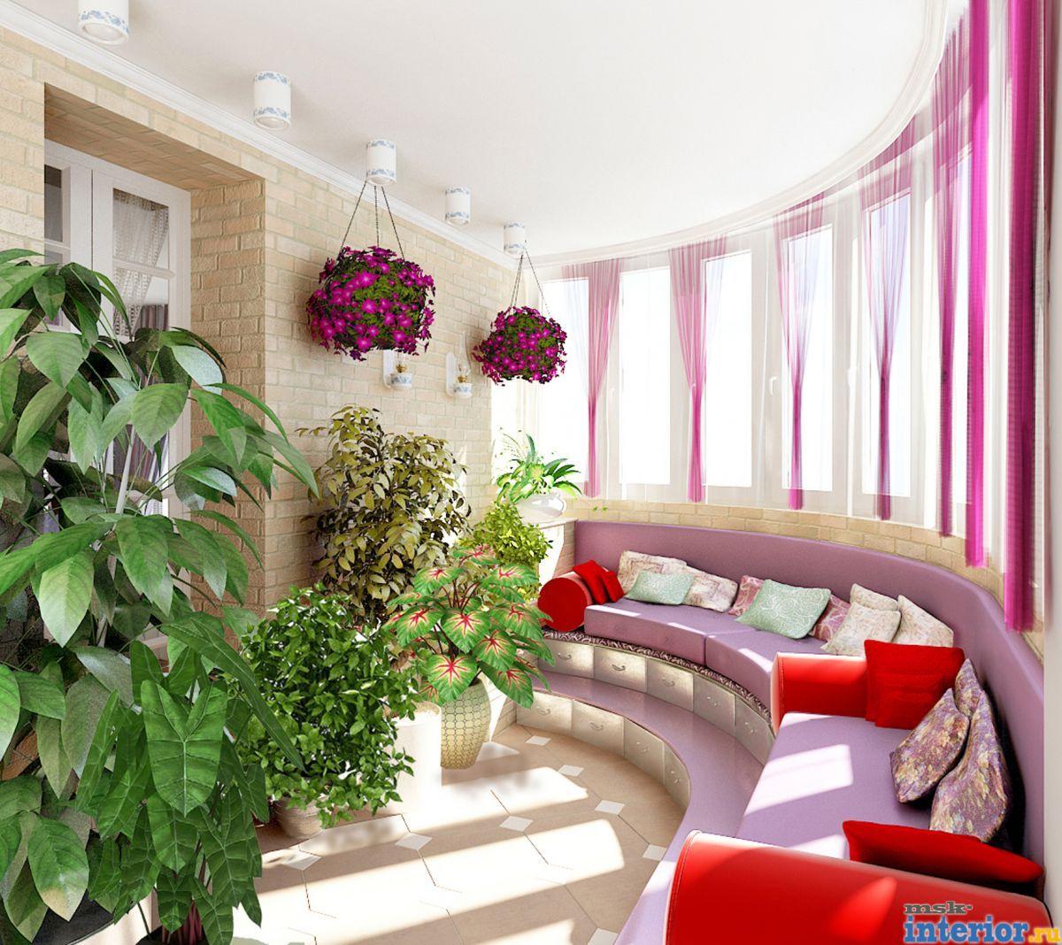 Интерьер балкона фото1787.